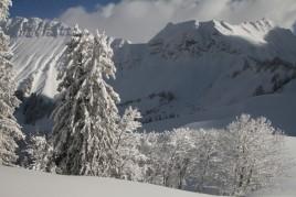 Col du Soladier, les Avants