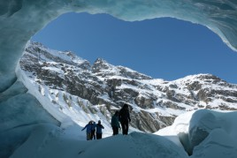 Grotte de Zinal & vallon du Touno