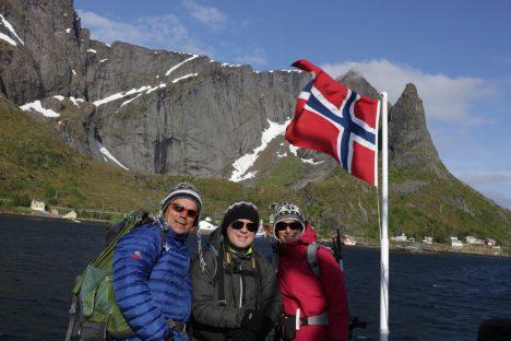 Repérage aux Lofoten 12 juin au 26 juin 2016