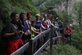 4 juin Descente Val d'Hérens, source, passerelle