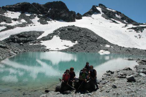 21 août entre deux barrages et lacs de montagnes