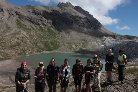 14 août La cabane des Audannes, Lapiaz, barrage de Tseuzier
