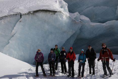 12 & 13 mars Grotte de Glace & vallon du Touno