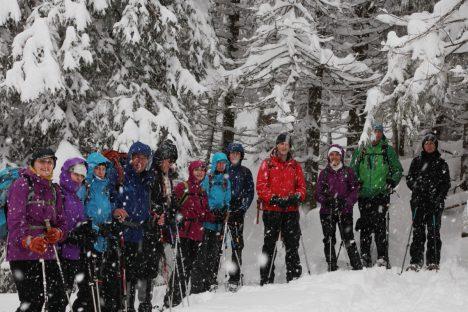 17 janvier Belle randonnée dans le Jura sauvage