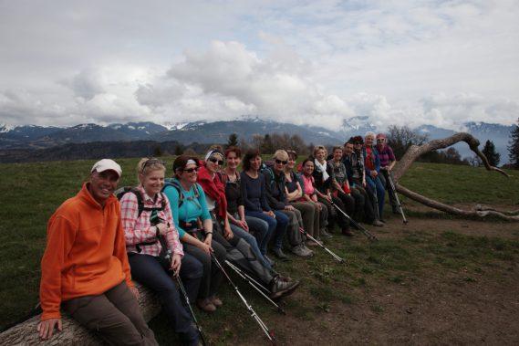 19 mars Première du Printemps, tour du Mont Pèlerin