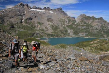 9 août Lac de Salanfe, col  & vallon d'Emaney