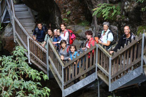 2 juillet les Gorges du Dailley et de la Triège