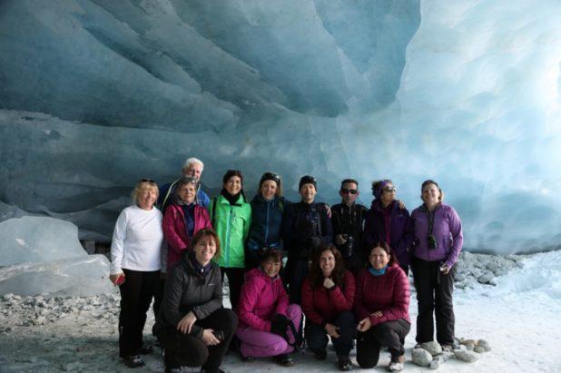 24 & 25 février 2018 Grotte de glace, vallon du Touno