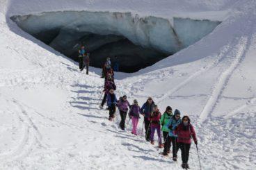 23 & 24 février week-end Grotte de glace et Vallon du Touno
