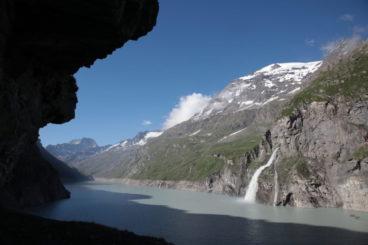 *** 25 août le grand tour du barrage de Mauvoisin