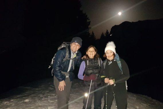 19 février raquettes & fondue pleine lune
