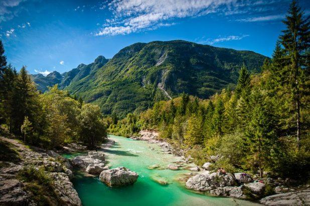 Randonnées en Solvénie, Les Alpes juliennes