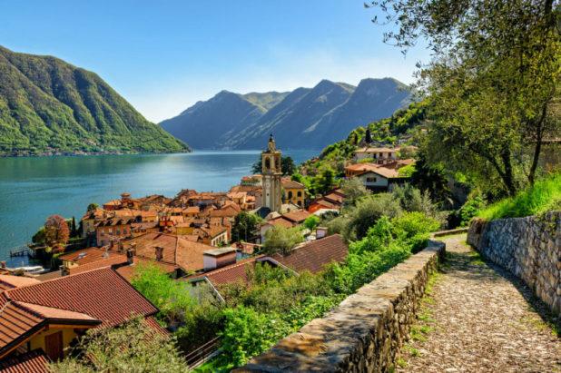 Les 4 lacs Côme, Majeur, Lugano et Orta printemps 2021
