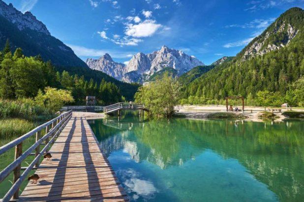 Les Alpes juliennes, Solvènie au printemps 2021