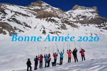 2 janvier B O N N E  A N N É E 2020 à Anzeindaz