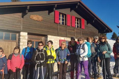 11 & 12 janv week-end Mont Tendre et pleine lune