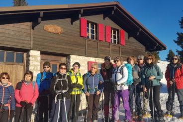 Week-end hivernal Jura Mont Tendre 11 & 12 janvier 2020 avec pleine lune