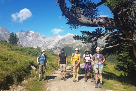 3 au 8 août 2020 Le Parc National Suisse