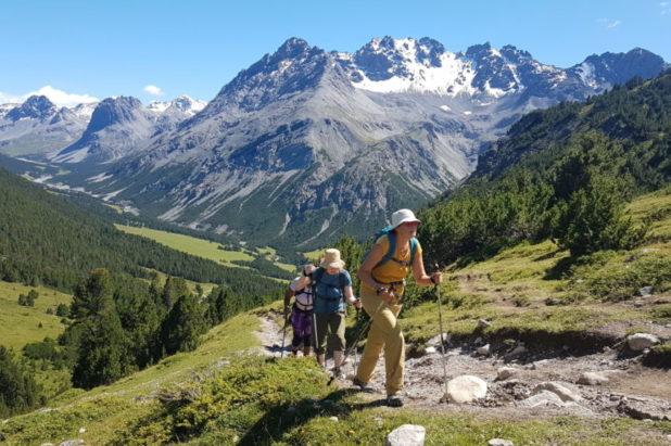 Parc National Suisse, Engadine 16 août au 21 août 2021