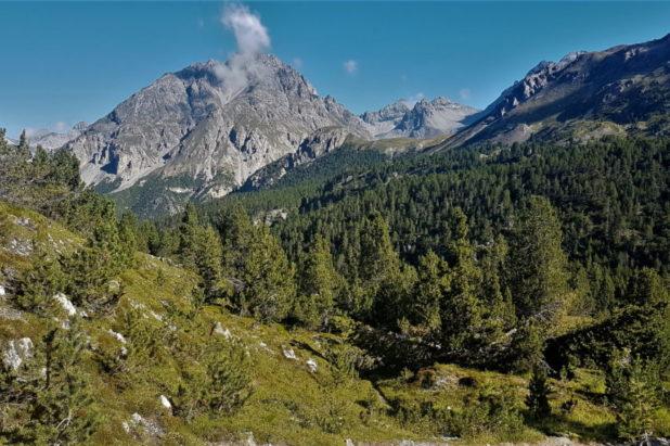 Le parc National Suisse du 12 au 17 juillet 2021