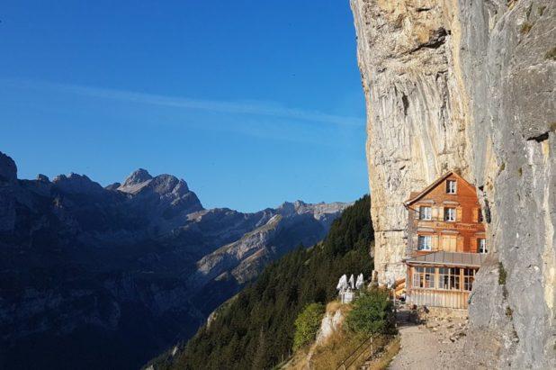Le massif de L' ALPSTEIN en Appenzell 20 au 25 sept 2021