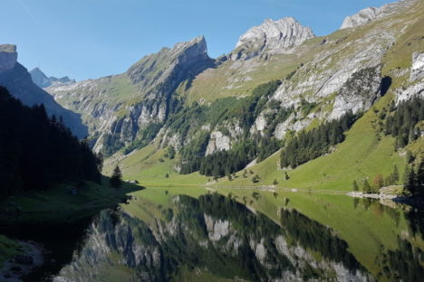 20 au 25 sept L'Alpstein, Appenzell