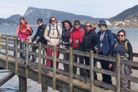 5 avril le tour du lac de Joux