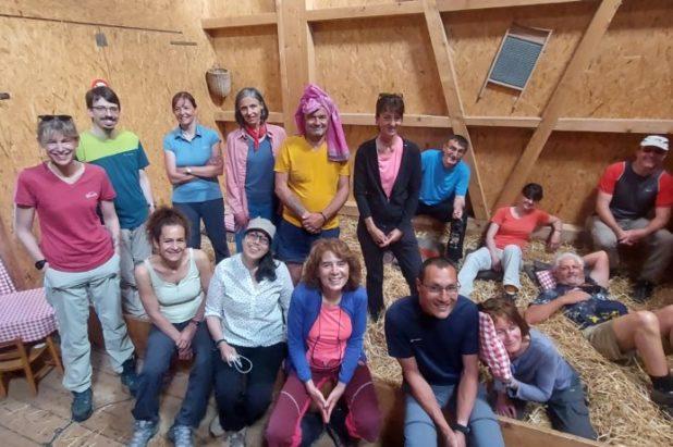 12 & 13 juin Week-end sur la paille  dans la Biosphère de l'Entlebuch