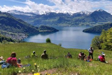 week-end lac des 4 cantons le  4,5,6 juin 2022
