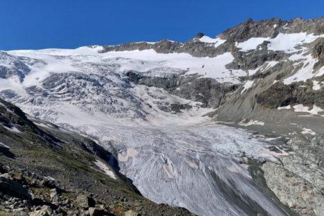 7 août glacier de Ferpècle, Bricola