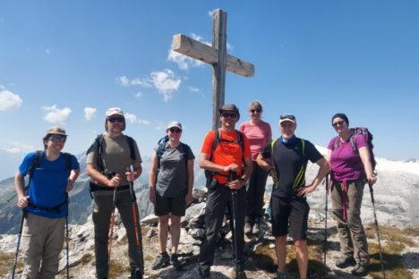 15 août le sommet du Sublage et tour du Sérac