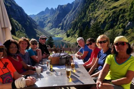 20 au 25 sept L'Alpstein, Appenzell et 5lacs du Pizol